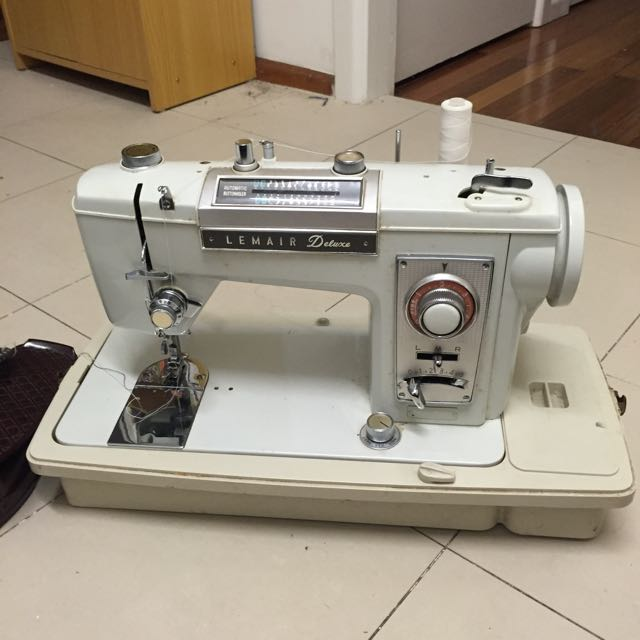 Lemair Deluxe Vintage Sewing Machine (was $100!!)