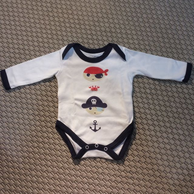 Little Pirate Long-sleeved Bodysuit
