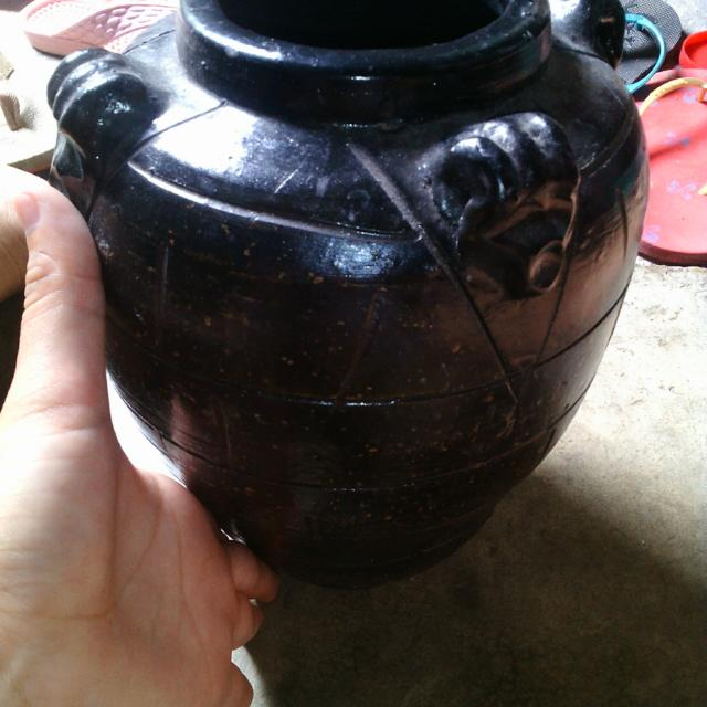 Lucky Black Jar