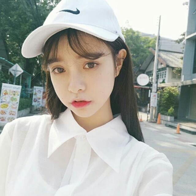 Nike 棒球帽 Nike 老帽 男女 情侶帽 運動 原宿 韓版風 勾勾