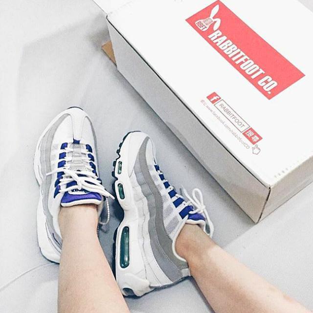 (保留)Nike Airmax95 葡萄紫配色(含運)