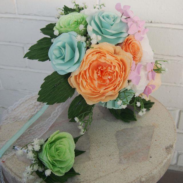 Peony & Rose Bridal Bouquet