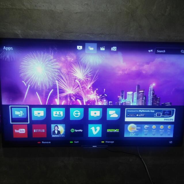 Price Reduce Philips 55 inch Slim Smart Full HD LED TV