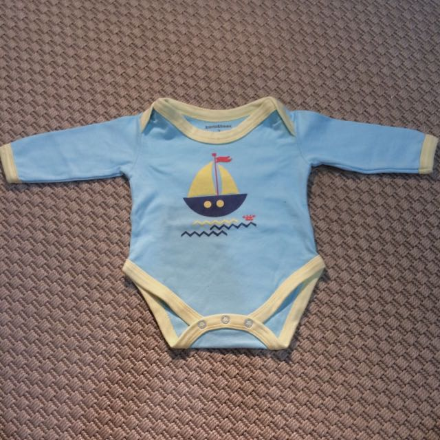 Pirate Ship Long-sleeved Bodysuit