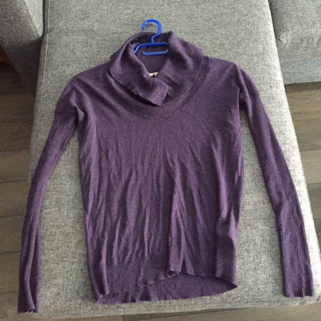 Rw&co Cowl Neck Sweater