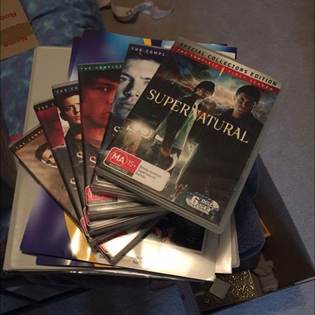 Seasons 1-6 Of Supernatural