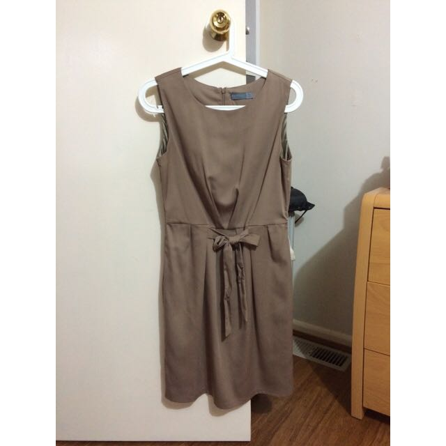 Size 10- Forcast Brown Dress