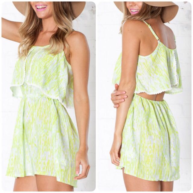 Summer Lime Playsuits
