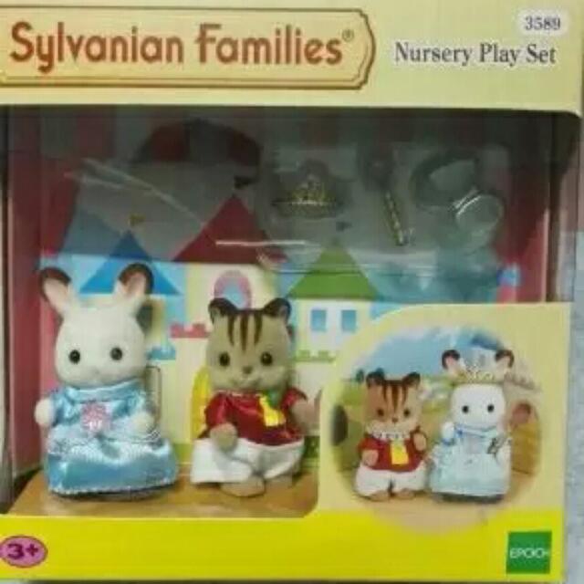 Sylvanian Family Nursery Play Set