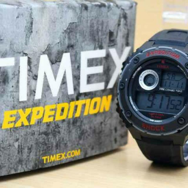 TIMEX EXPEDITION BLACK