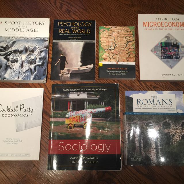 University (of Guelph) Textbooks