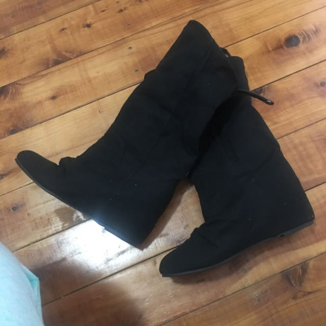 Winter Ankle Heel Boots