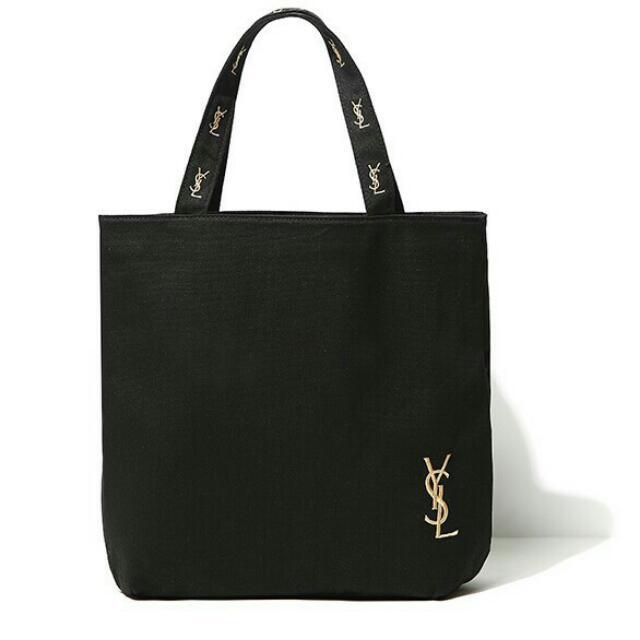 現貨不用問😎質感YSL手提袋 手提包 帆布袋 帆布包 購物袋 斜背包 側背包 肩背包 斜背 小方包