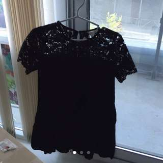 Hm Lace Little Black Dress