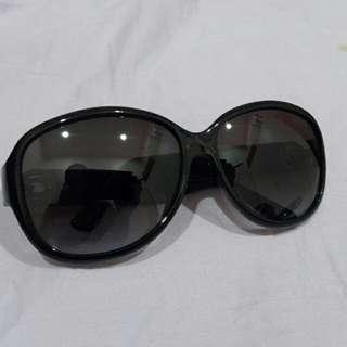 Authentic Guess GU7406 Sunglasses 64mm - Shiny Black / Gradient Smoke Lens