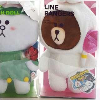 Line rangers brown cony cobe doll original