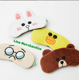 Eye patch Line characters Brown Cony Sally Boss