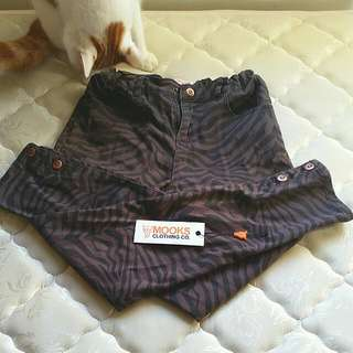 Mooks Tiger Stripe Skinny Jeans