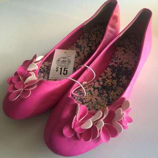New Pink Target Shoes