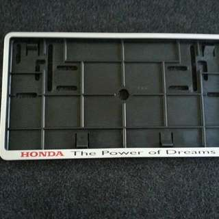HONDA Number Plate Casing For Sale