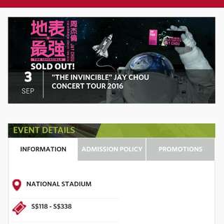"""The Invincible"" Jay Chou Concert Tour 2016"