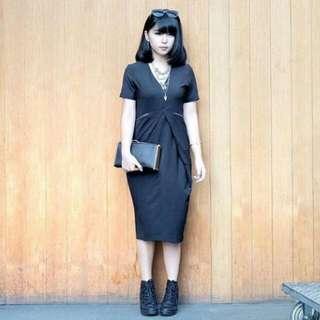 Clothing Company Dress Black