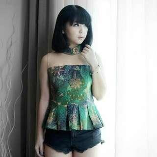Batik Green Preloved