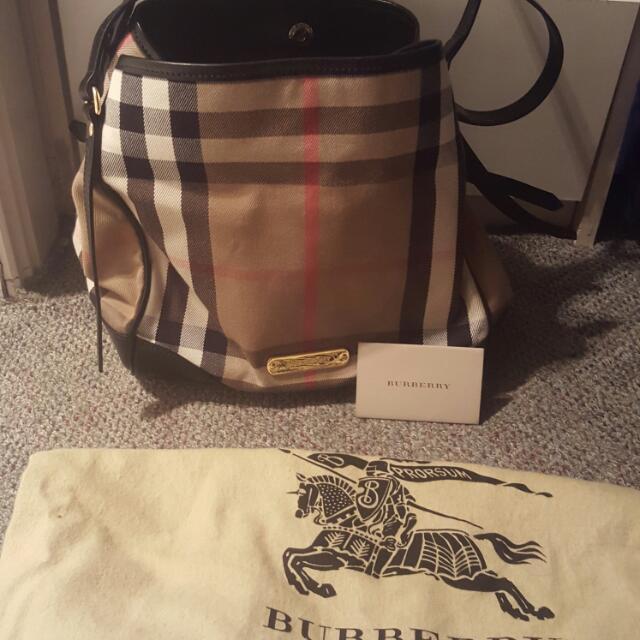 100% Authentic Burberry Bag