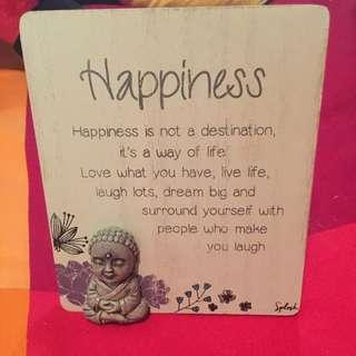 Serenity Poem Happiness Buddha