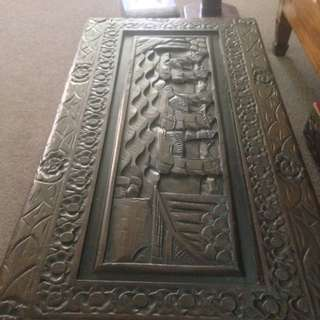 Beautiful Hand Carved Camphor Chest Highly Ornate