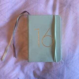 2016 Kikki.K Mini Diary
