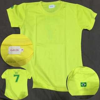 Baju Bola Brazil Dari Gaudi