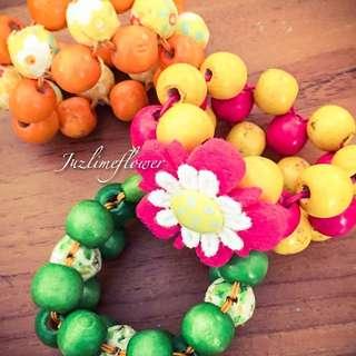 (NEW) Wooden Bracelet