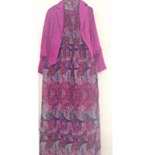 Da Cinay Executive Long Dress
