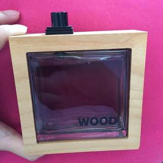 (二手)DSQUARED HE WOOD 香水 男香 淡香水 100ml