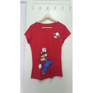Mario Anime T-shirt