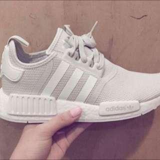 Adidas--NMD 全新米白 限量