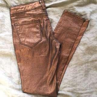 T By Bettina Liano Copper Jeans