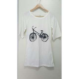 Vintage Style Bicycle Long Sleeve T-shirt