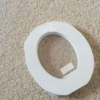 Typo Wooden Letter O