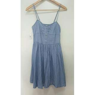 Cotton On Light Denim-look Dress