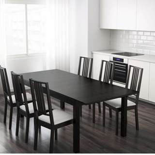 Dinning table (Extendable from 4 to 8 people) (DELIVERY INCLUDED)