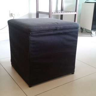 Stool with storage space