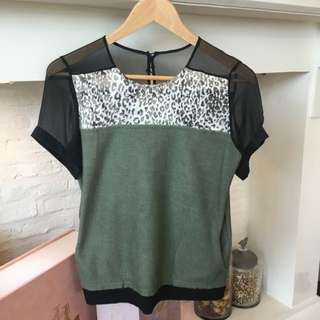 Isis Blouse Colour Block Tops