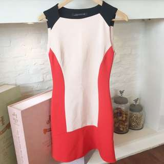 Zara Colour Block Dress