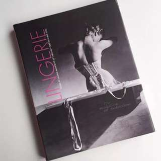 Lingerie Coffee Table Book