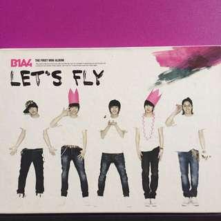 B1A4 - 1st Mini Album Let's Fly