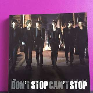 2PM -Don't Stop Can't Stop [CD]