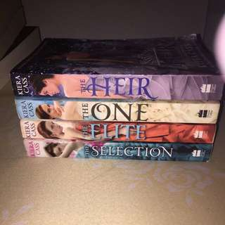 Kiera Cass 4 Books Collection