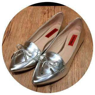 london rebel尖頭平底鞋